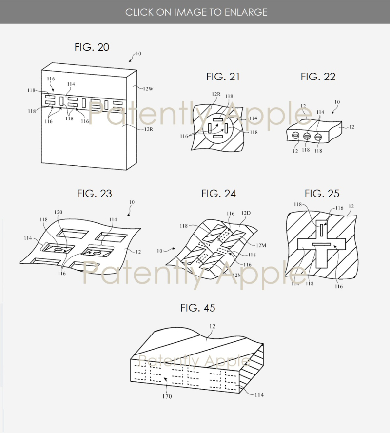 3 Apple millimeter wave antenna patent figures 20-25 + 45  Patently Apple IP Report