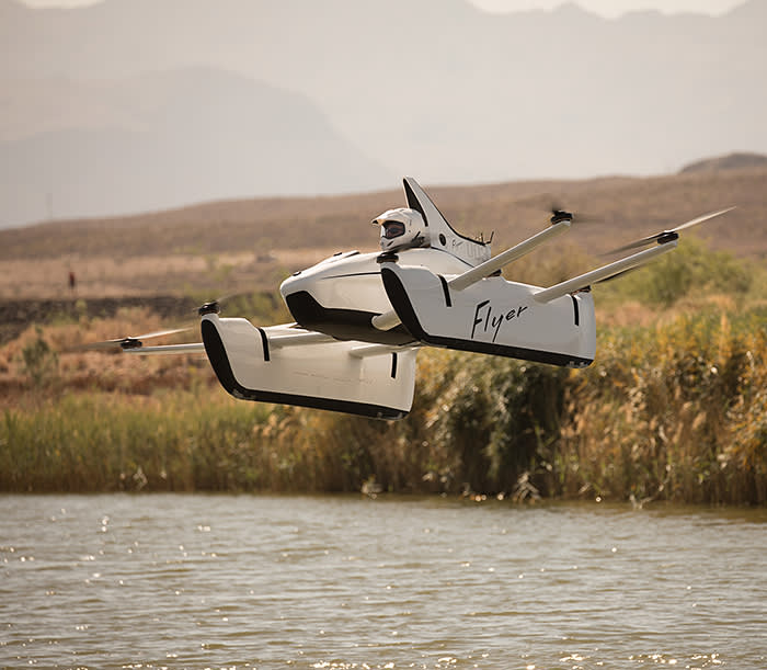 Larry Page has backed Kitty Hawk, which makes electric flying vehicles