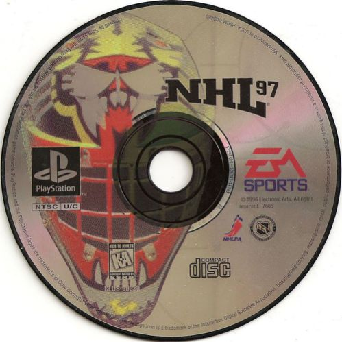 NHL '98 big step up from 97 except for disc art