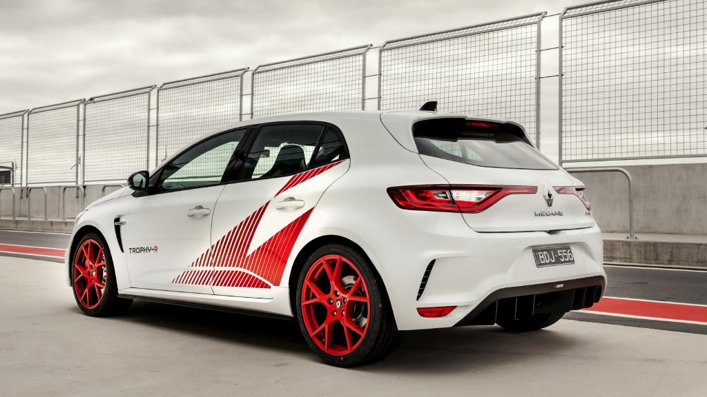 The Megane RS Trophy-R is the brand's most hardcore machine.